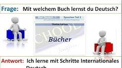 Start Deutsch 1, Sprechen Teil 1, Teil 2 Thema Lernen und Teil 3 NEU (03,1)
