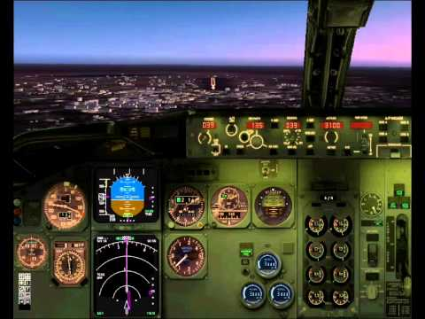 BURKINA FASO  - OUAGADOUGOU - LANDING Rwy 04 - BOING 737 Wilco - FS2004