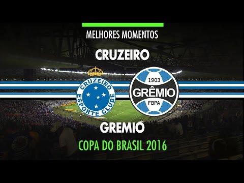 Melhores Momentos - Cruzeiro 0 x 2 Grêmio - Copa do Brasil - 26/10/2016