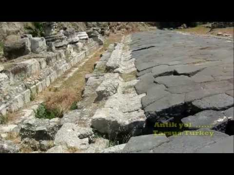 Antik Yollar : Antik roma yolu .1.yüzyıl tarsus turkey . youtube