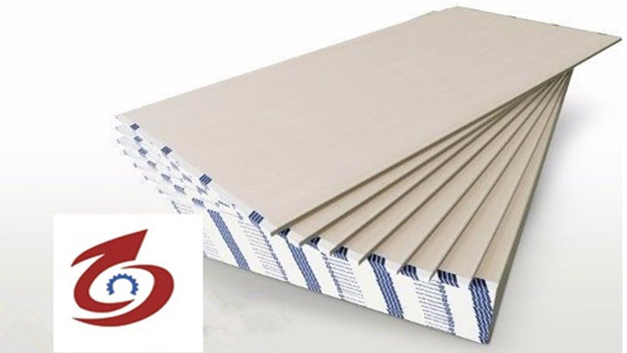 gypsum board manufacturing plant/gypsum board manufacturing plant/paper  gypsum panel making machine