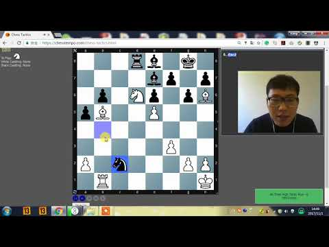 【Kaiqi x Chess Tempo】和凯淇一起做战术 01
