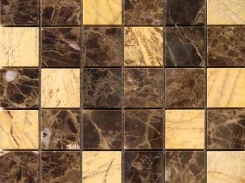 Marmol mosaicos y cenefas en piedra natural youtube for Azulejos de marmol
