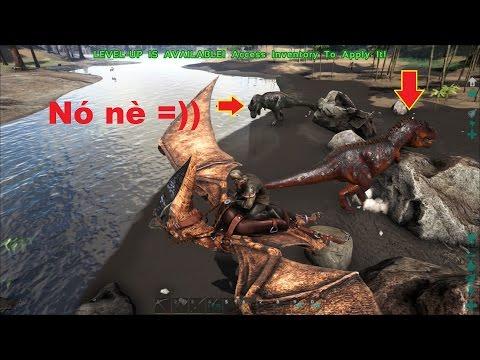 ARK: Survival Evolved #21 - Đi tìm Khủng long bạo chúa Tyrannosaurus (T-Rex)