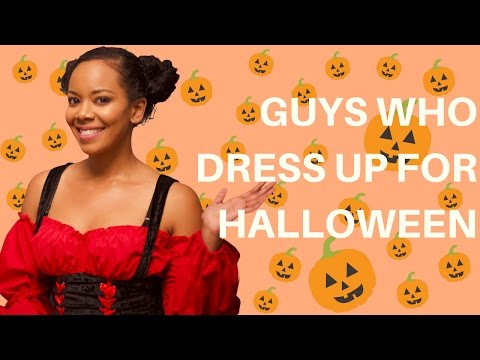 GUYS DRESS UP FOR HALLOWEEN | DATING TIPS