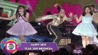 RARA & AULIA gak mau lho cintanya DIKOCOK KOCOK -  HAPPY NEW YEAR 2019