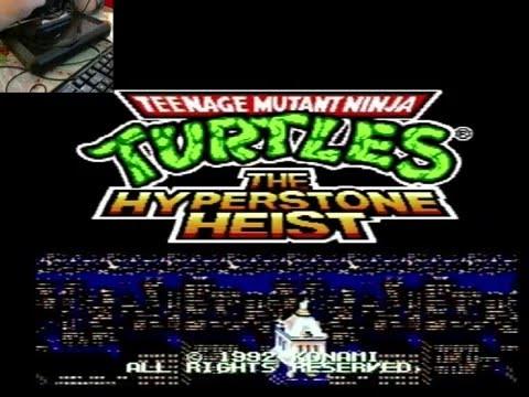 Teenage Mutant Ninja Turtles: Tournament Fighters. SEGA [Прохождение / Walkthroug]