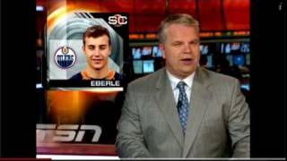 TSN - Jordan Eberle, Who does he think he is? (TSN Joke Story)