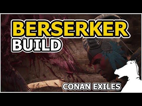 BERSERKER BUILD | CONAN EXILES