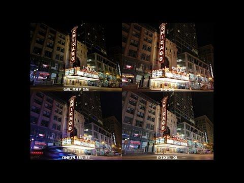 Galaxy S8 vs LG G6 vs OnePlus 3T vs Pixel XL - Photo Quality - Night Edition