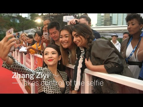 ZHANG ZIYI Takes control of the selfie | TIFF 2016