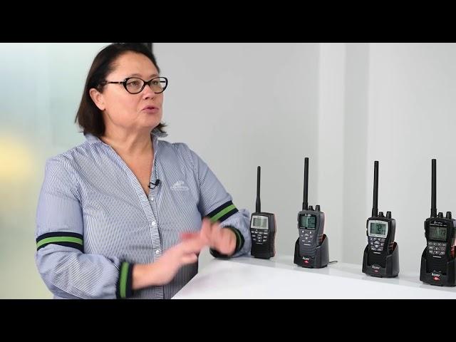 La matériel COBRA Marine en 2021 : VHF PORTABLES H150, H350, H500 et H600, les VHF FIXES F57 et F77