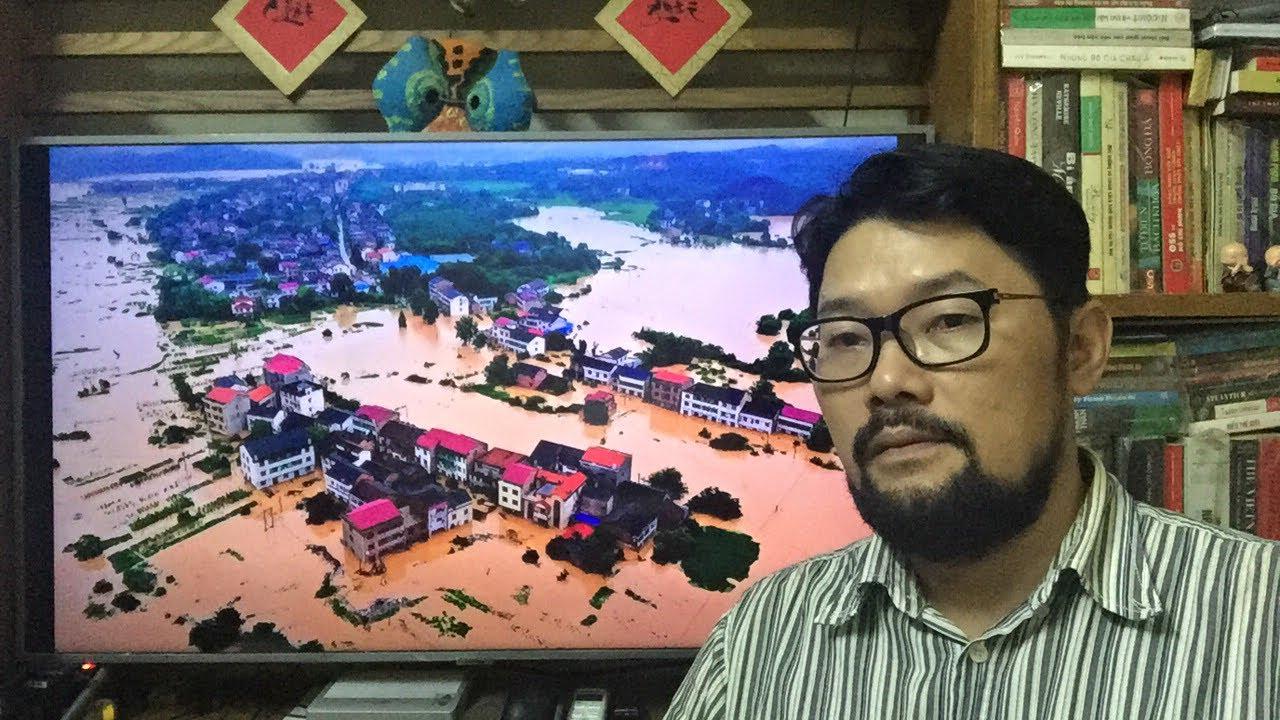 """🌏 20Jul03 - Tàu: Phát cảnh báo """"Hồng thuỷ số 1"""" ở thượng lưu sông Trường Giang"""