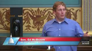 Sen. McBroom speaks on the importance of Senate's role in state of emergency