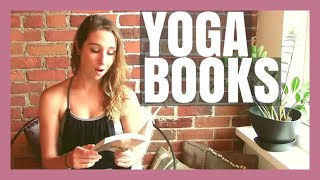 Yoga Book Recommendations! My Top 5 Picks