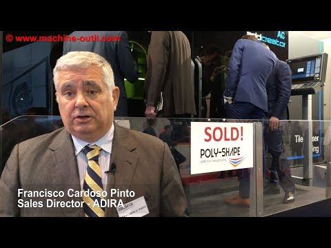 Fabrication additive métallique : interview de Francisco Cardoso Pinto d'ADIRA sur formnext