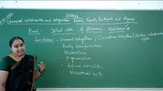 I PUC | Biology | Chemical coordination and integration - 03