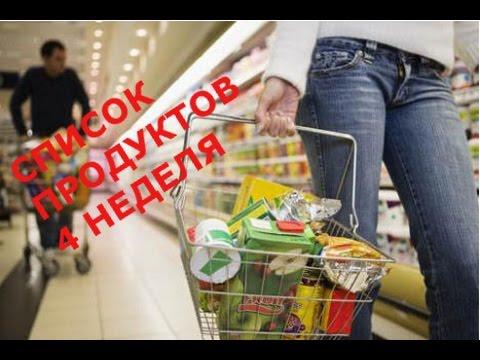 Диета на неделю - zhenskoe-