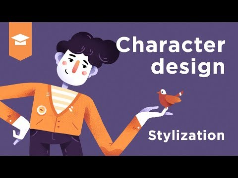 Dan's Illustration tutorial #4 Character design and drawing
