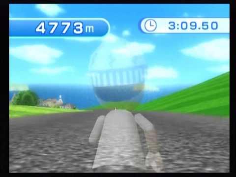 Wii Fit Plus - Aerobics - Free Run - 10 minutes (6984 m)