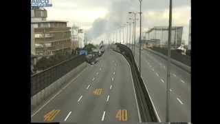 1995年1月17日,阪神淡路大震災 当日 東灘区,灘区の様子