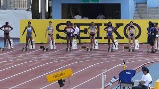 ゴールデングランプリ陸上2017 女子100m 2017.5.21 福島千里メイン 福島千里 検索動画 10