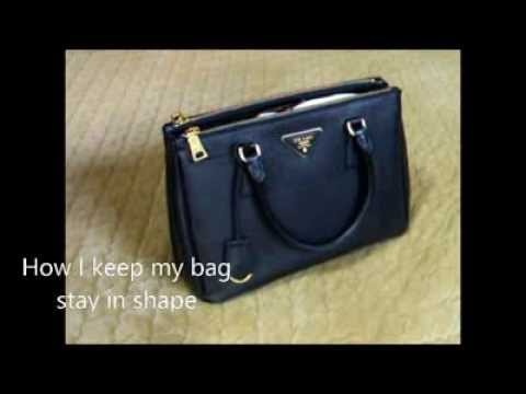 PRADA SAFFIANO DOUBLE ZIP TOTE - YouTube 3727d176a3161