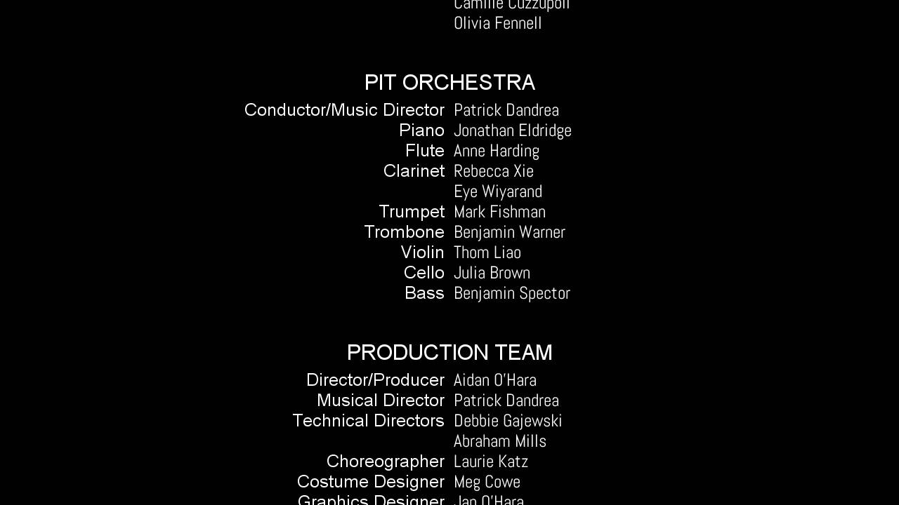 movie credit template - Selo.l-ink.co