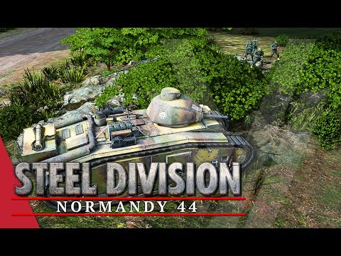 Cheaters In The Woods!? Steel Division: Normandy 44 Gameplay #30 (Bois de Limors, 2v2)