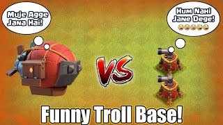 Battle Blimp VS Air Swipers | Insane Funny Troll Base | Who Will Win ...