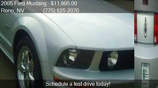 2005 Ford Mustang GT Deluxe 2dr Convertible for sale in Reno