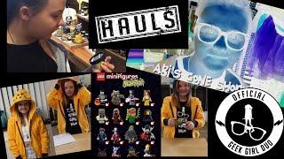 Geek Shopping Haul | Geek Girl Duo | Forbidden Planet | Lush | Lego Figures