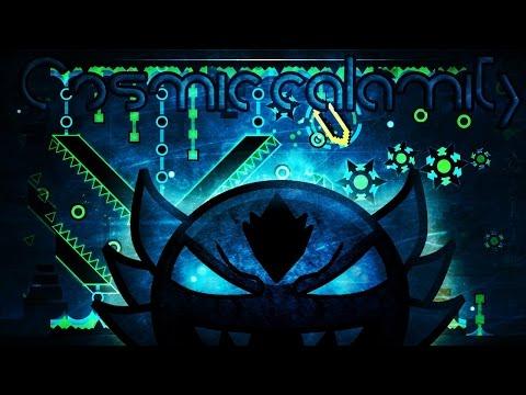 (Insane Demon) Cosmic Calamity by Asriel96 | Geometry Dash.