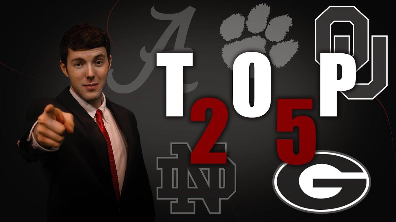 College football Power Rankings for Week 4