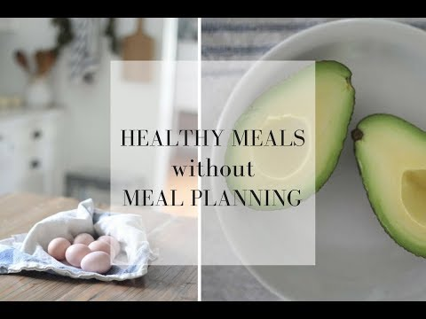 How to Eat Healthy Meals Every Night Without Meal PlanningLarge Family