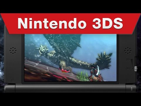 Nintendo 3DS - Monster Hunter 4 Ultimate Launch Trailer