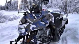 Снегоход Dingo T125(Irbis Dingo T125 - недорогой и очень практичный снегоход. Главная изюминка снегохода Ирбис Динго 125 -- это его лёгкос..., 2013-12-16T05:13:52.000Z)