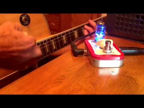 Altoids  vacuum tube guitar tone made with Videoshop