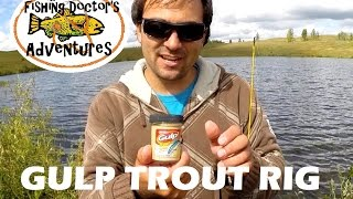 How to use Berkley Gulp Trout Dough and Powerbait Trout Fishing