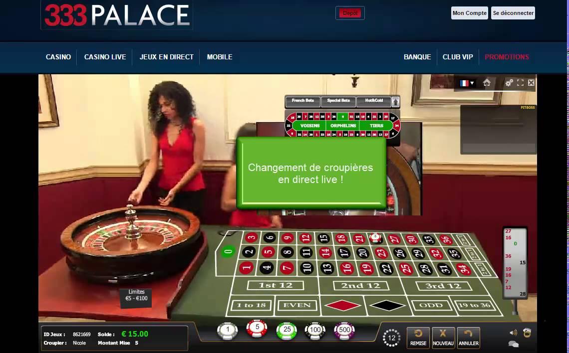 Direct poker croupiere banque casino suivi de dossier