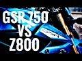 GSR 750 VS Z800  | CUAL ES MEJOR ? | PRESUPUESTOS - VENTAJAS - DESVENTAJAS