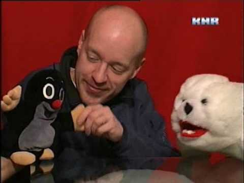 The ELF Singing in Greenlandic on Greenland TV w/Puppets!