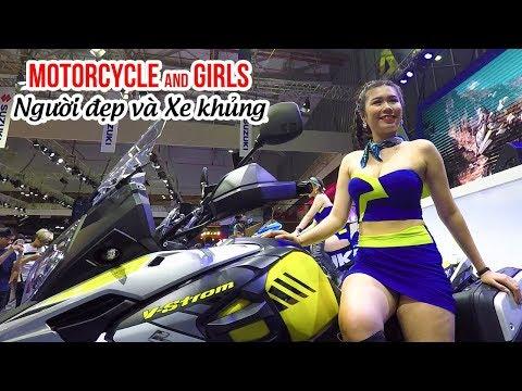 Ngắm xe moto khủng và Người đẹp tại toàn bộ Triển lãm Vietnam Motorcycle Show
