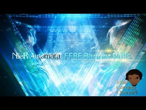 Final Fantasy Brave Exvius - NieR Banner Pulls