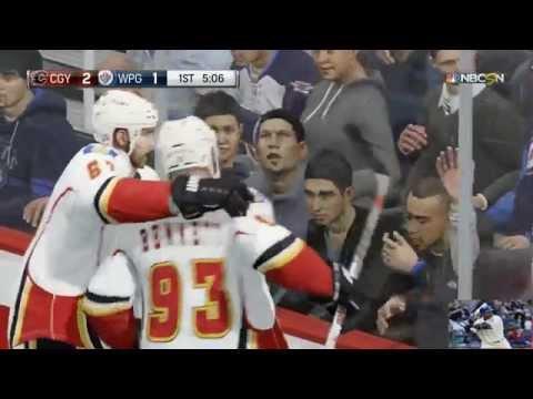 NHL 16 Calgary Flames Season Game #4 - Puck Movement
