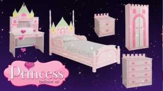Princess Castle Theme Bed/bedroom Furniture For Kids Children From Little Devils Direct
