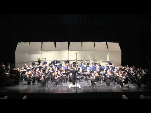 Austin Symphonic Band Performing Morning Alleluias by Ron Nelson
