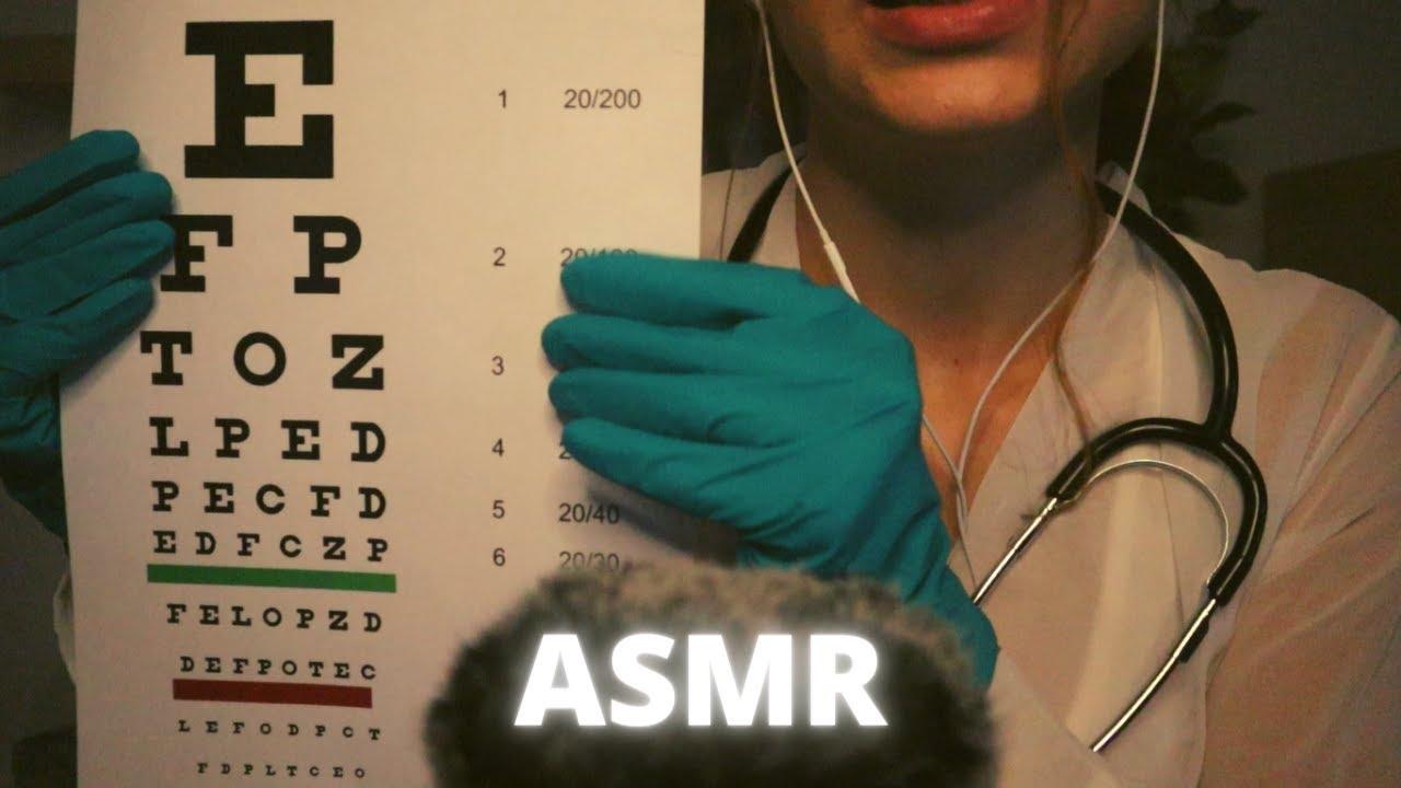 ASMR | Cranial Nerve Exam (Roleplay)