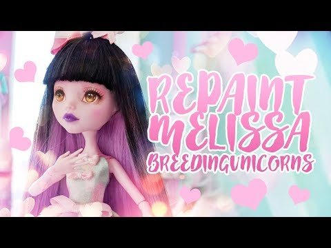☽ Moonlight Jewel ☾ Repaint Melissa Breeding Unicorns Collab