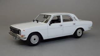 ГАЗ 24-10 «Волга» | Автолегенды СССР №48 | Обзор масштабной модели автомобиля 1:43